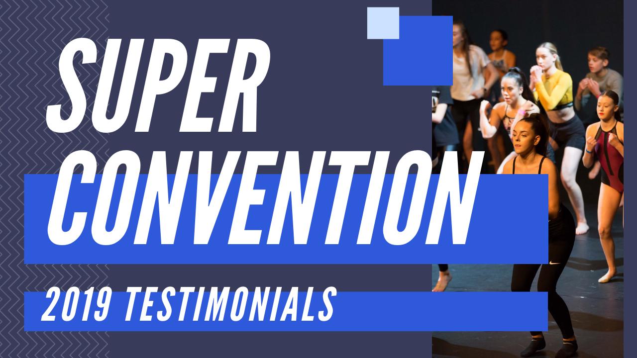 Super Convention Testimonials